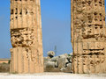 Greek ruins, the Valley of the Temples. Royalty Free Stock Photography