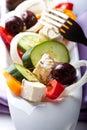 Greek salad Стоковое Изображение RF
