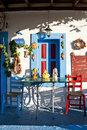 Greek taverna Royalty Free Stock Photography