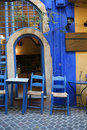 Greek taverna Stock Photography