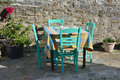 The Greek Taverna Royalty Free Stock Photo