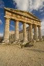 The Greek Temple sicily Stock Photo
