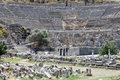 Greek Theatre of Ephesus Royalty Free Stock Image