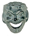 Greek Theatre Mask SATYR Stock Images