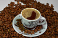 Greek turkish cafe Royalty Free Stock Photo