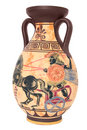 Greek vase Stock Images