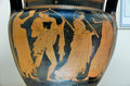 Greek vase ancient from the classical age th th century bc Stock Image