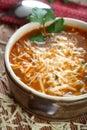 Greek vegetables soup Royalty Free Stock Images