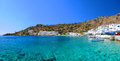 Greek village of Loutro, Crete Royalty Free Stock Photo