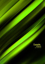 Green abstract art background modern curve Stock Photography