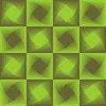 Green abstract background, checker patterns with blending square texture Royalty Free Stock Photo
