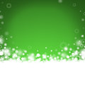 Green abstract Christmas background Royalty Free Stock Images