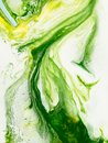 Green marble abstract hand painted background Royalty Free Stock Photo
