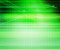 Green Abstract Lines Background Stock Photo