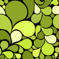 Green abstract seamless pattern Royalty Free Stock Images