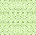 Green abstract seamless pattern geometric vector illustration Royalty Free Stock Photos