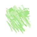 Green abstract watercolor spot. Vector illustration, isolated on white.