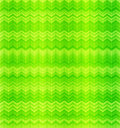 Green abstract zigzag textile seamless pattern Royalty Free Stock Image