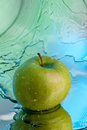 Green apple Royalty Free Stock Photos