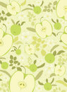 Green apple background Stock Photos