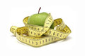 Green Apple Diet Royalty Free Stock Photography