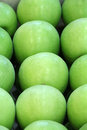 Green apple nature background Royalty Free Stock Image