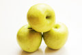 Green apples fresh delicious looking Royalty Free Stock Photo