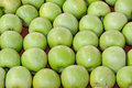 Green apples granny smith at market Royalty Free Stock Photography