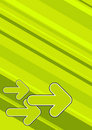 Green Arrows Background Royalty Free Stock Images