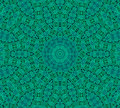 Green background with abstract pattern radial dotted Royalty Free Stock Images