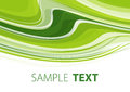 Green background abstract striped wavy Stock Photography
