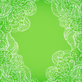 Green background with light patterns Royalty Free Stock Photo