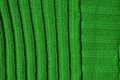 Green background texture made by embroidered wool Stock Images