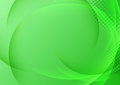 Green background with transparent waves clip art Royalty Free Stock Photo