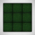 Green backgrounds on white paper texture Royalty Free Stock Photo