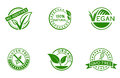 Green badges