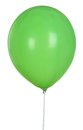 Green Balloon Isolated On White Background Royalty Free Stock Photo