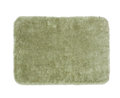 Green bath rug Royalty Free Stock Photo
