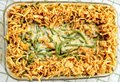 Green Bean Casserole, Thanksgiving, French Fried Onions Royalty Free Stock Photo