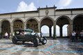A green bentley litre takes part to the gp nuvolari classic car race on september in castiglion fiorentino ar italy Stock Images