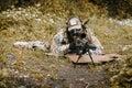 Green Berets sniper Royalty Free Stock Photo
