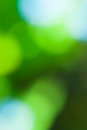 Green and blue abstract defocused background with sunshine eco nature Royalty Free Stock Photography