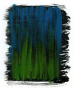Green, blue and black  watercolor background Stock Photo