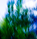 Green / Blue Blend Abstract #6 Stock Images