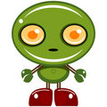 green bot Royalty Free Stock Photo
