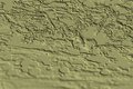 Green brick cement forms and shapes, abstract construction background Royalty Free Stock Photo