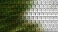 Green brick wall computer generated Royalty Free Stock Photo