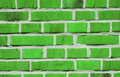 Green bricks Royalty Free Stock Image
