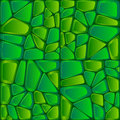 Green bricks abstract vector seamless pattern file eps format Royalty Free Stock Images
