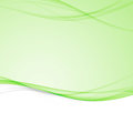 Green bright abstract modern swoosh wave border layout. Elegant